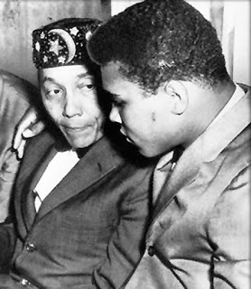 The Honorable Elijah Muhammad and Muhammad Ali